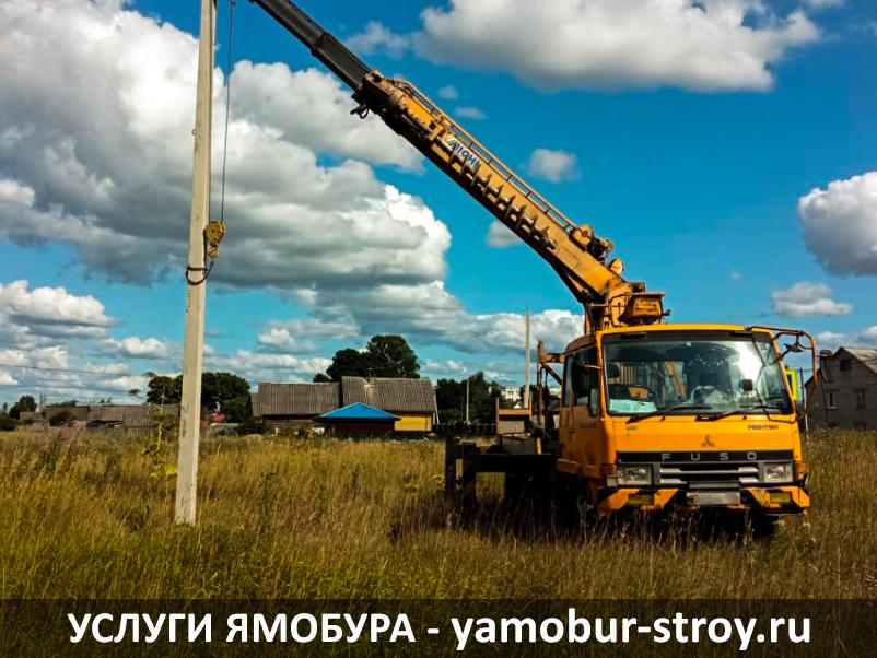 Монтаж ЛЭП на земельном участке